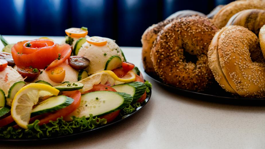 Bagels & Vegetables